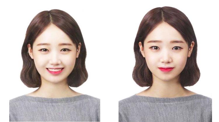 韓国スター証明写真