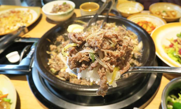 韓国料理プルゴキ食べ方
