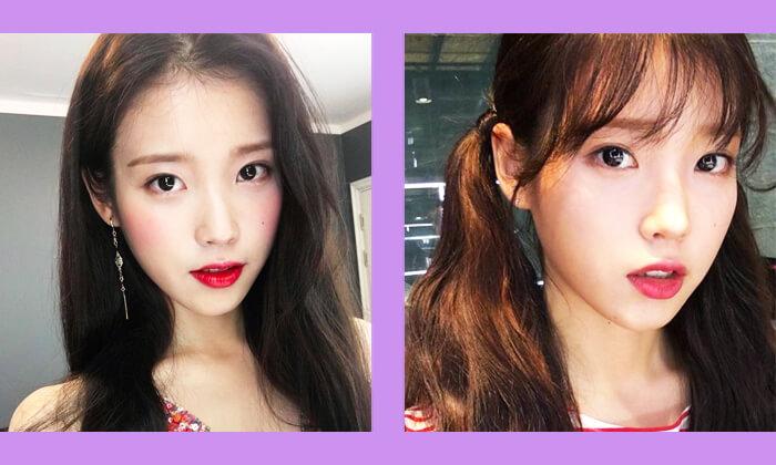 韓国スター前髪スタイル