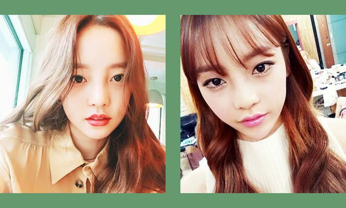 韓国スタークハラ前髪スタイル