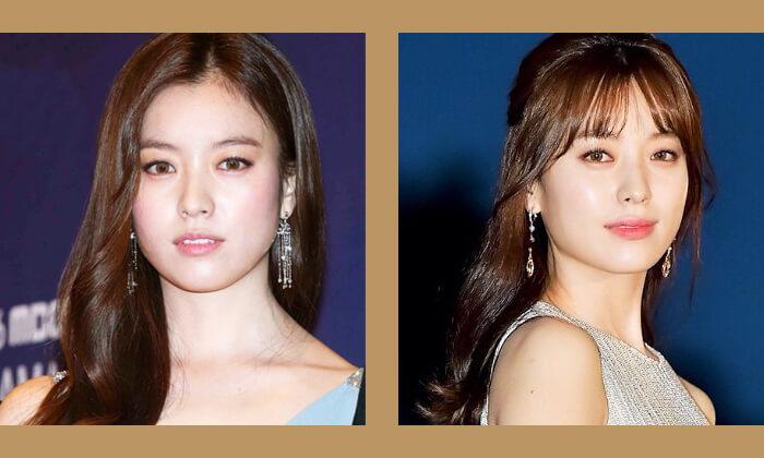 韓国スターハンヒョジュ前髪スタイル