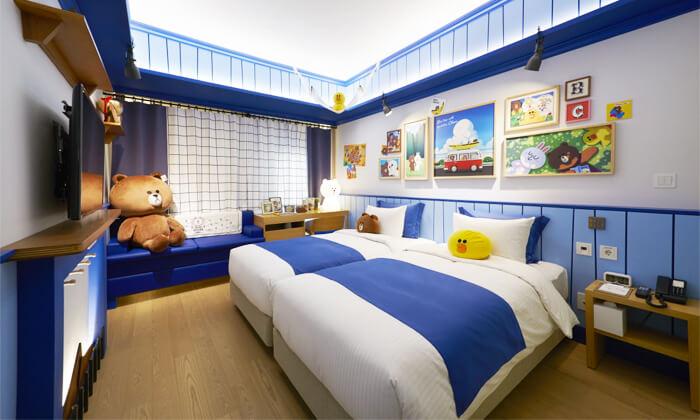韓国明洞ラインフレンズホテル