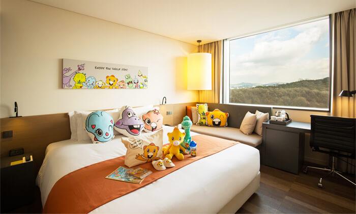 韓国ホテル新羅ステイ東灘キャラクタールーム