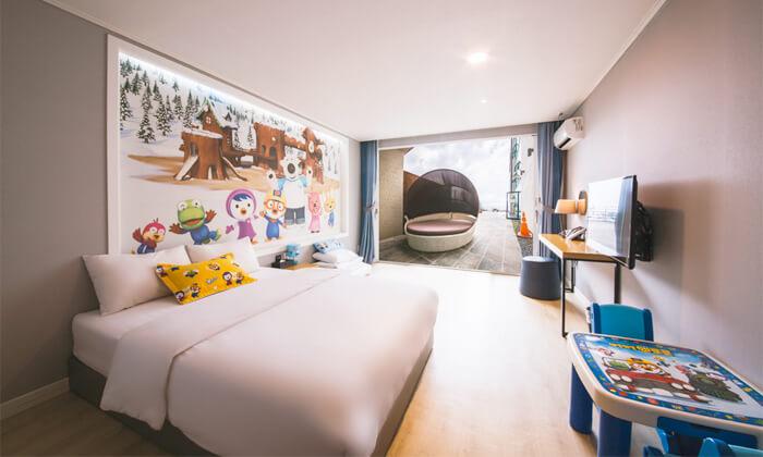 済州ホテルポロロキャラクタールーム