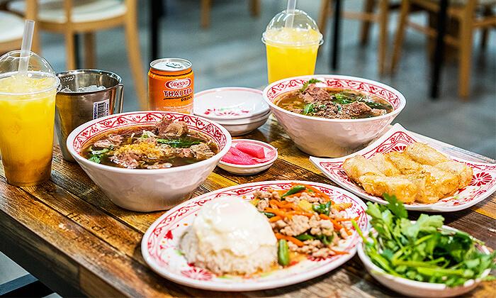 タイ牛肉麺韓国オープン