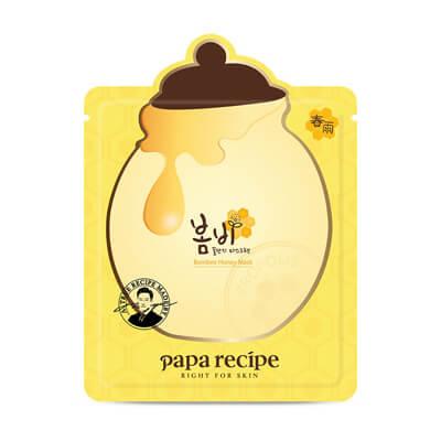 韓国パパレシピボムビーハニーマスク