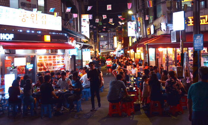 韓国24時間営業